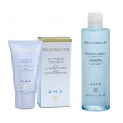 AHA Skin cleanser + AHA Glycolic cream 10