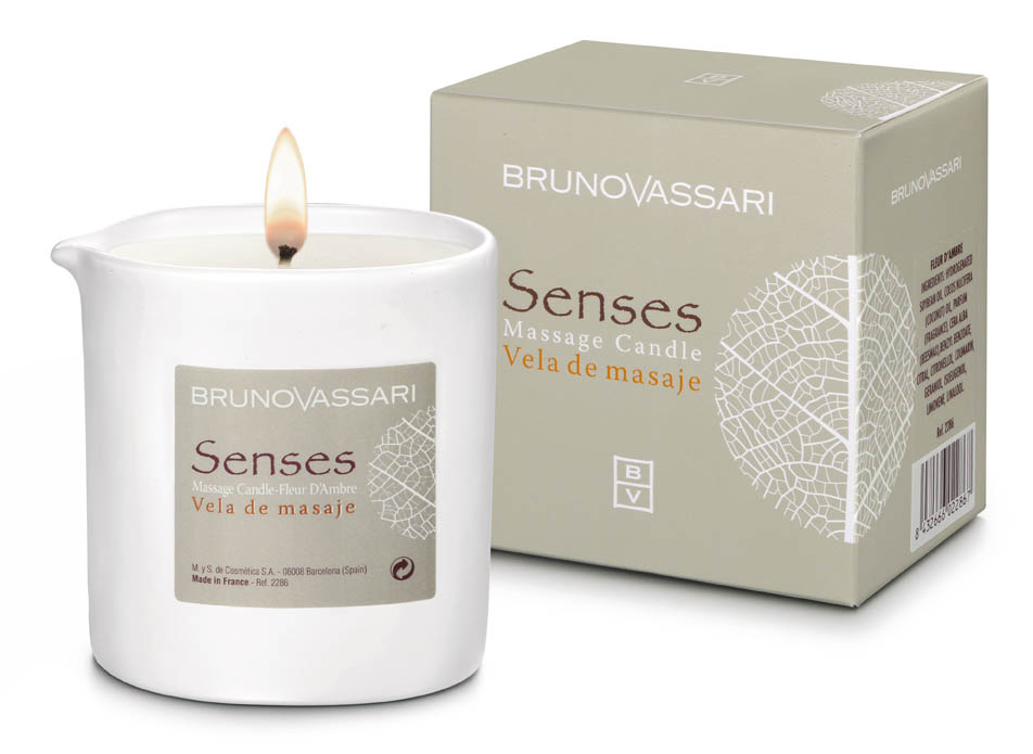 Senses - candle massage